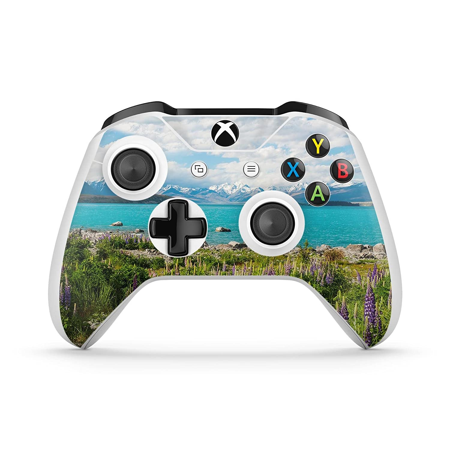 Vivid Paradise - Protective Vinyl DesignSkinz Decal Sticker Skin-Kit for the Microsoft Xbox ONE / ONE S Controller