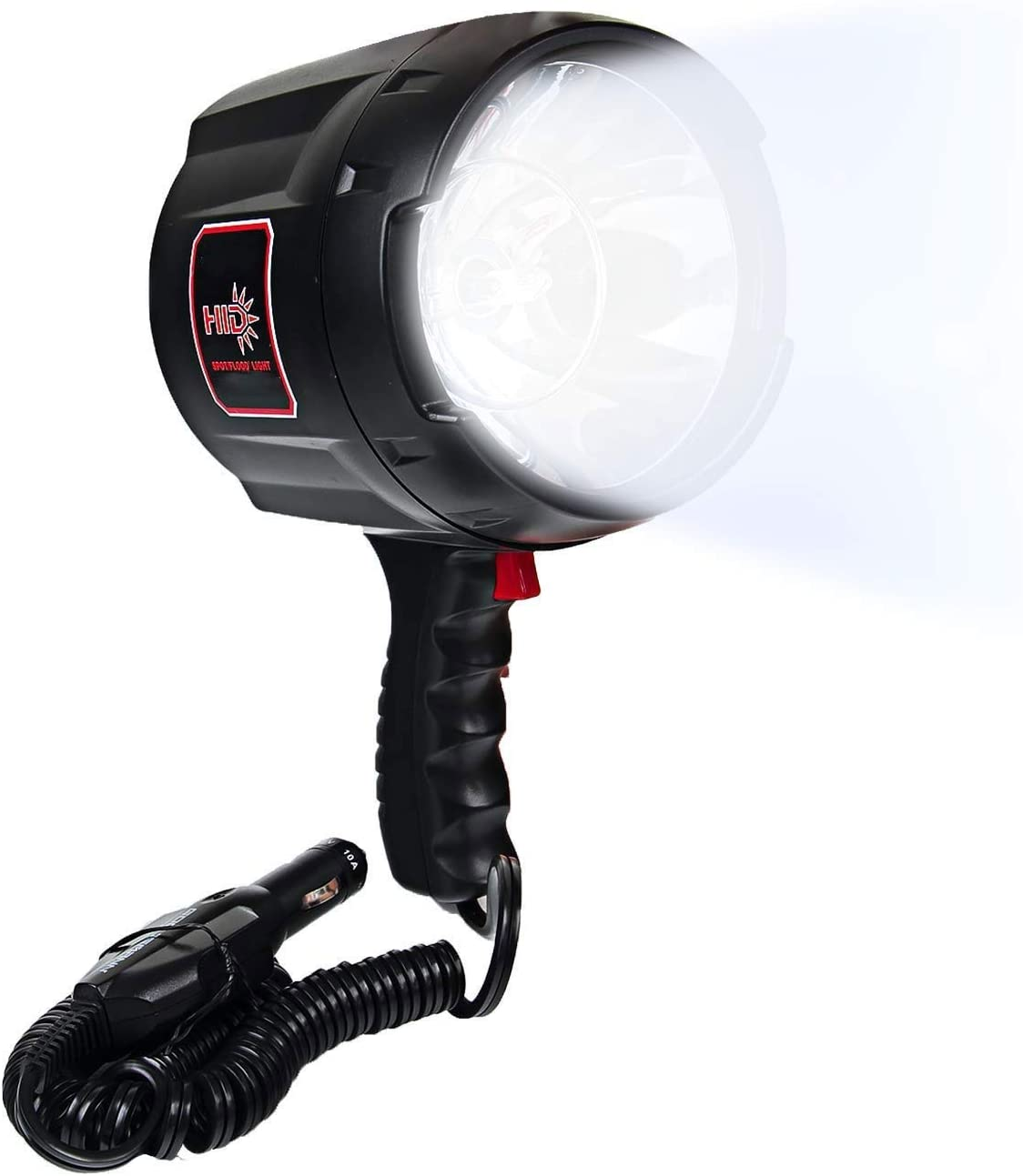 HWZGSLC Powerful 2000 Lumen HID Spotlight/Floodlight Automotive/Garage/Emergency/Boating/Fishing/Camping/Hiking/Patrolling Spotlight