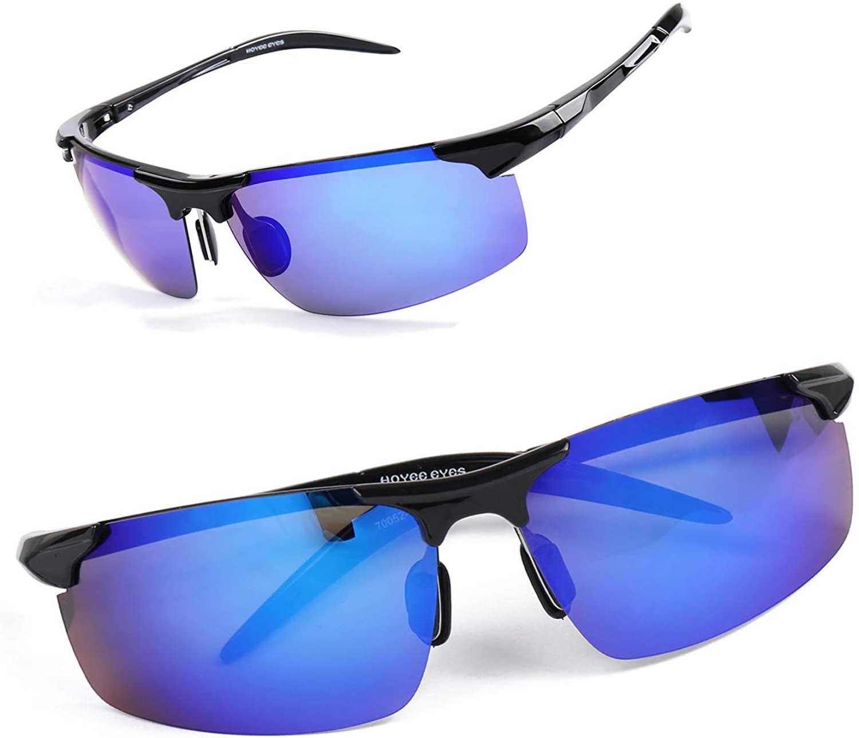 Hoyee Eyes Super-light Driving Sunglasses Tr90 Unbreakable Sports Eyewear Polarized UV Protection Shades