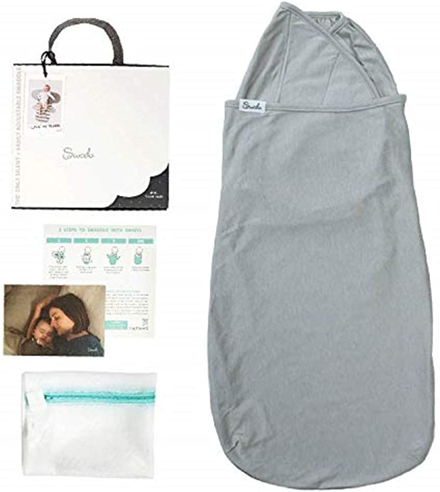 Swado: The Only Silent and Adjustable Easy Swaddle | Luxury Bamboo-Cotton