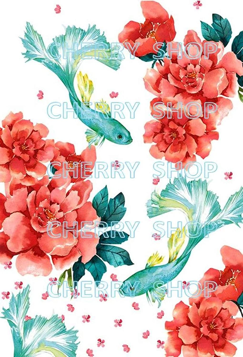 Paper for decoupage Vintage Style(A4 / 20x20 cm) Total 3 Sheets