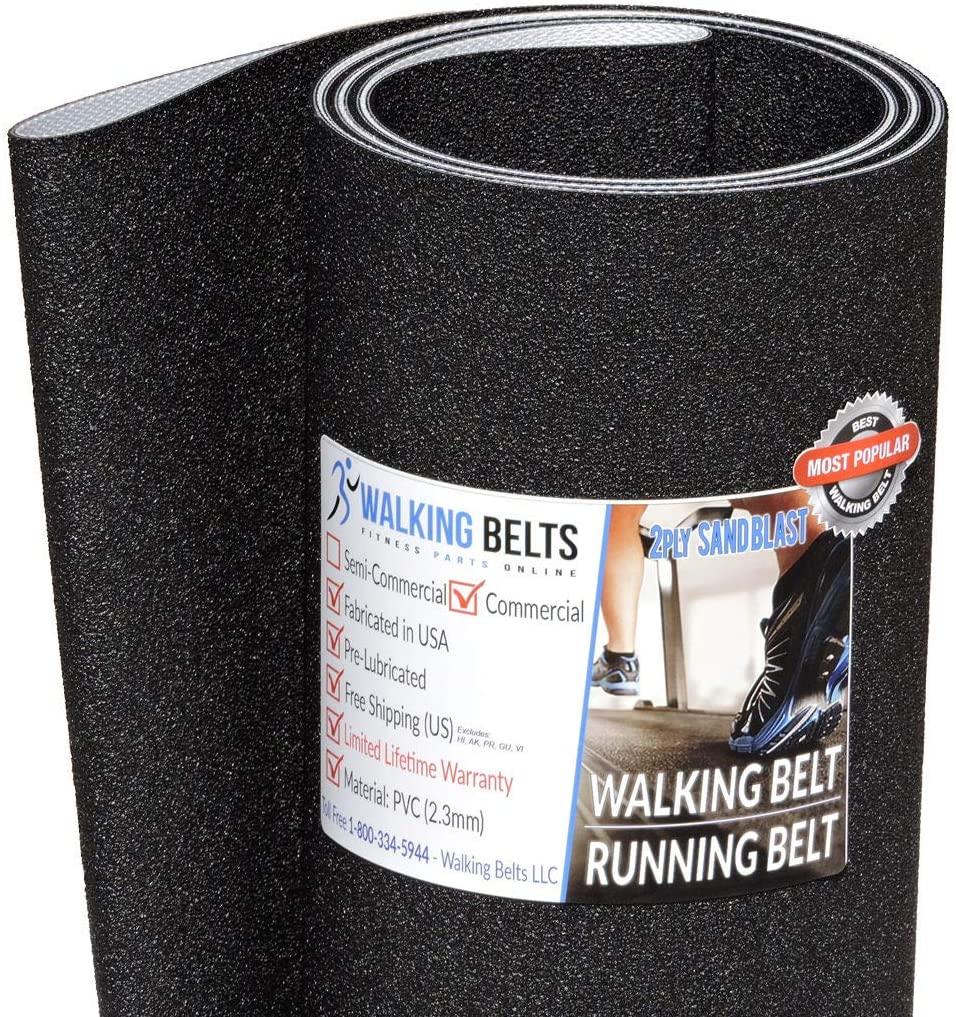 WALKINGBELTS Walking Belts LLC - SFTL195140 FreeMotion GS 1500 Treadmill Running Belt 2ply Sand Blast + Free 1oz Lube