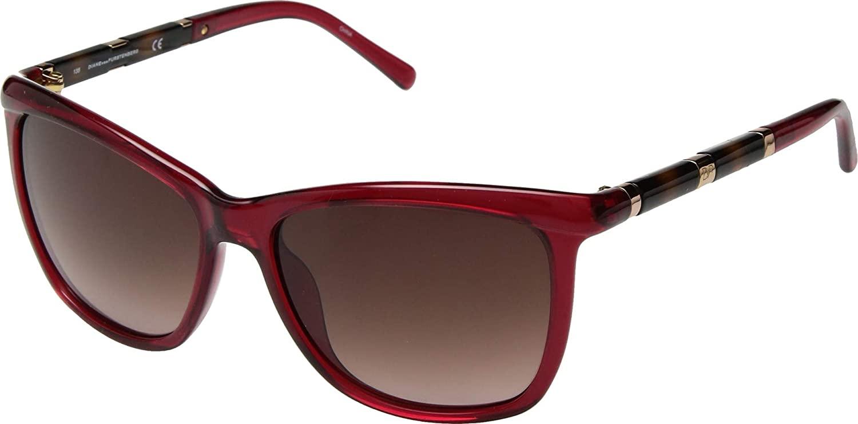 Diane von Furstenberg Hannah Crystal Red One Size