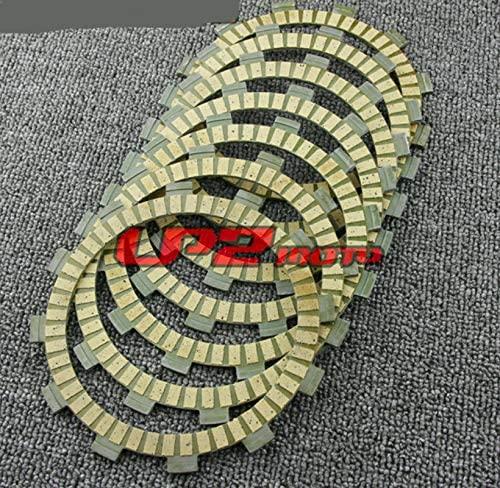 DE.SOUL Clutch Plate Discs for Yamaha XT350 85-01 YFM400 Kodiak YFZ350 Banshee 90-06