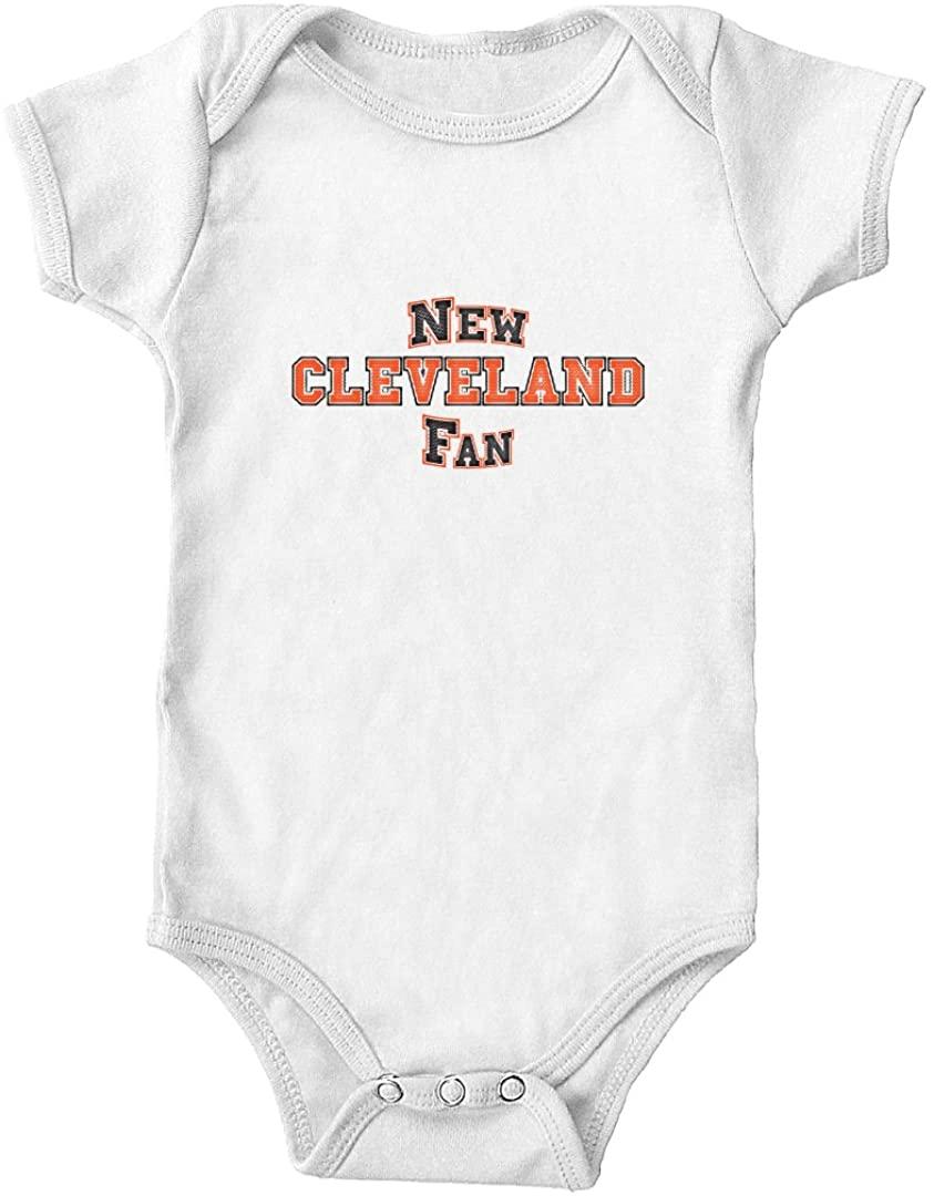 Trunk Candy New Cleveland Fan Infant One-Piece Bodysuit