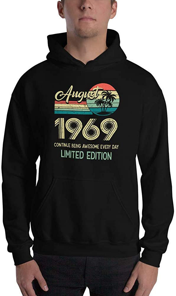 August 1969 Continue Being Awesome Every Day Shirt
