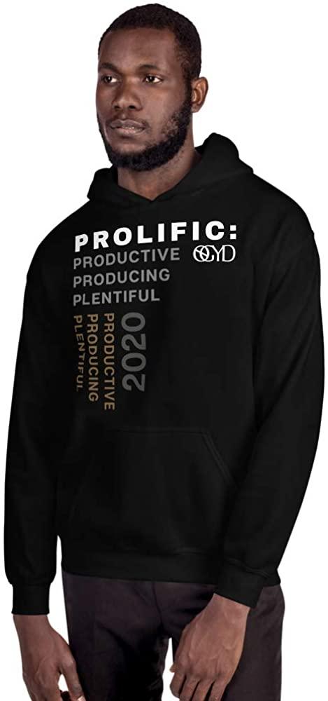 NoGrayDays Unisex Sweatshirt Hoodie Sweater Mens Womans Pocket Winter Funny Inspirational Gift Black