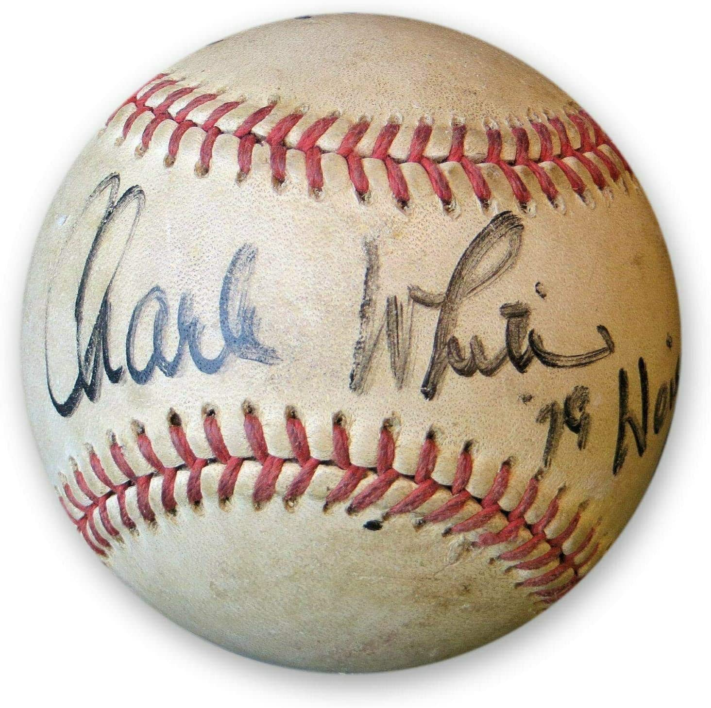 Charles White Manny Mota Rod Martin Signed Autographed Baseball JSA T48956 - NFL Autographed Miscellaneous Items