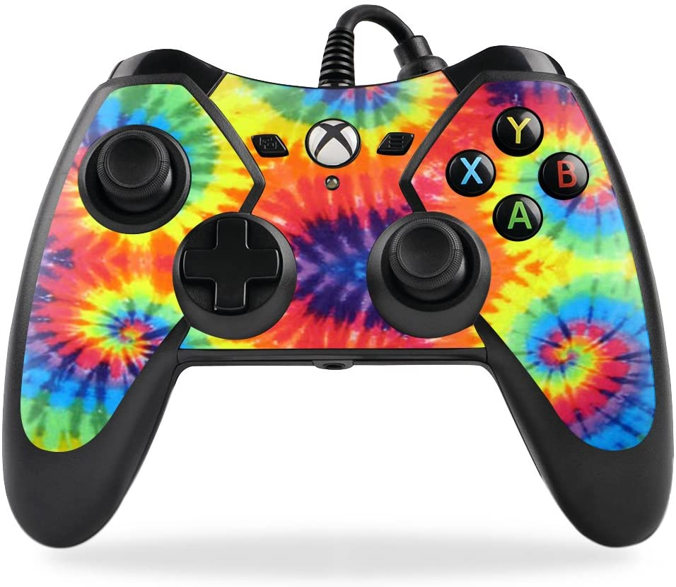 MightySkins Skin Compatible with PowerA Pro Ex Xbox One Controller case wrap Cover Sticker Skins Tie Dye 2