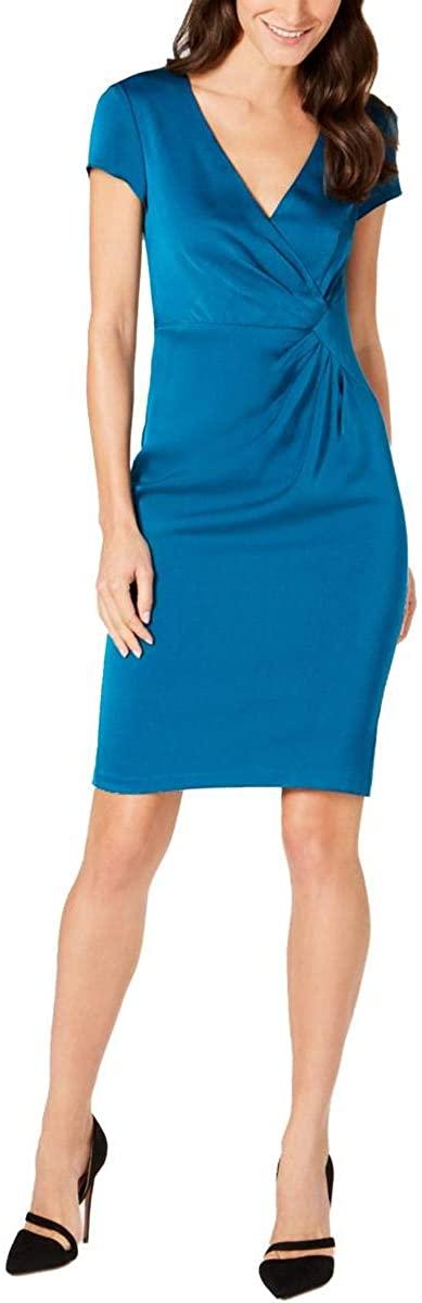 Nanette Lepore City Ruched Sheath Dress