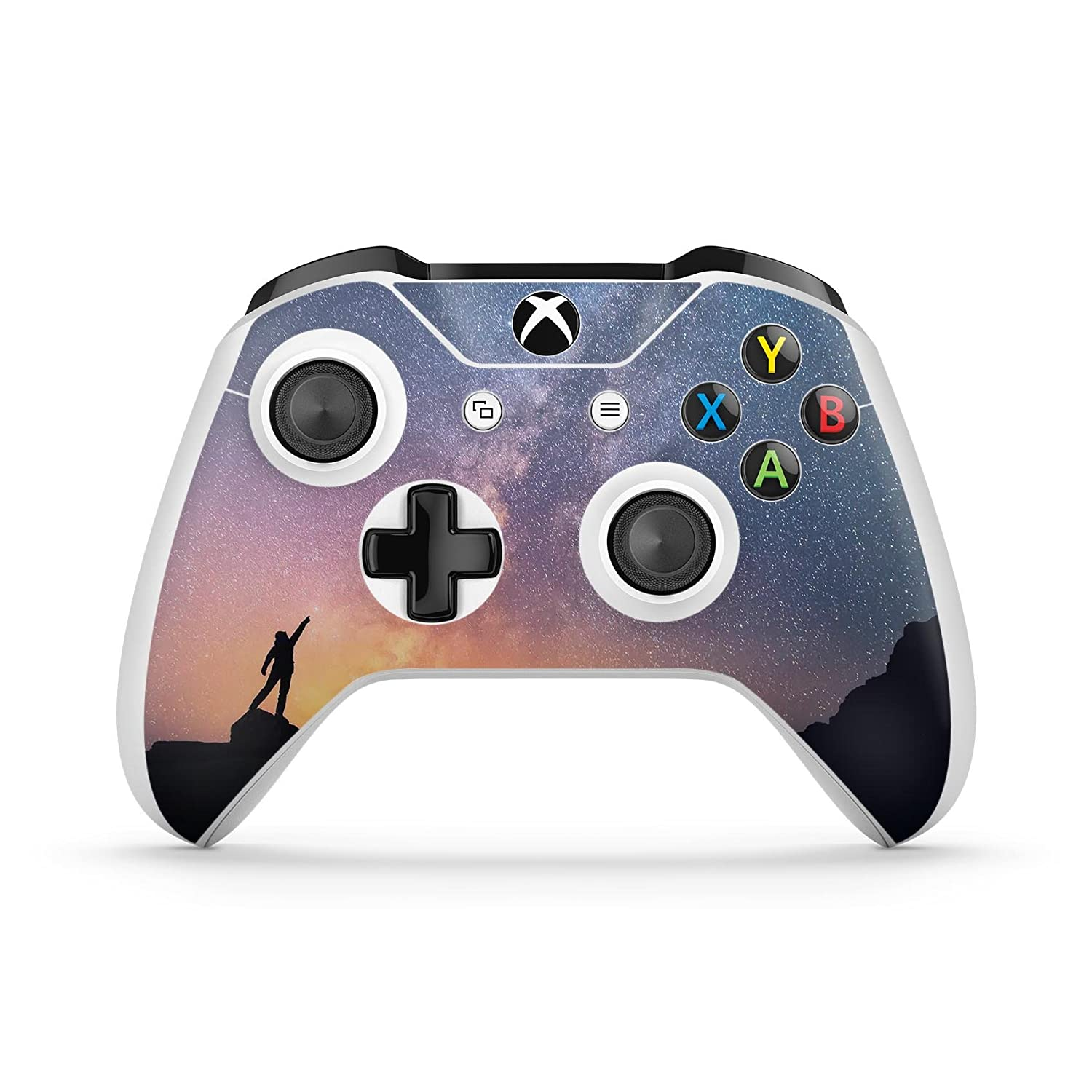 Reach for the Stars - Protective Vinyl DesignSkinz Decal Sticker Skin-Kit for the Microsoft Xbox ONE / ONE S Controller