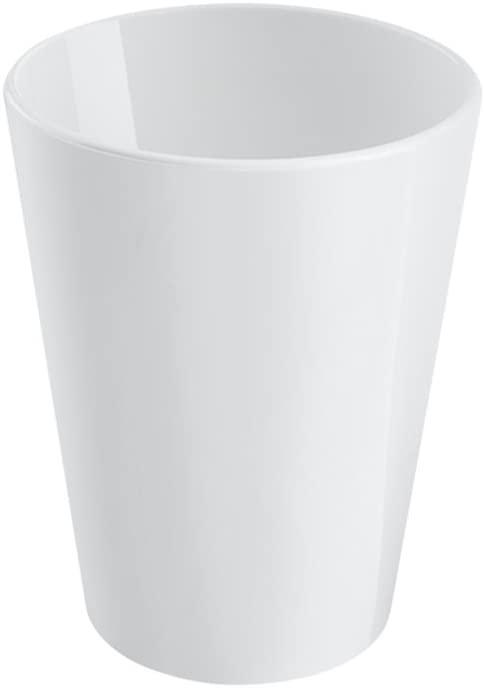 Coza Design Durable Plastic Cups, One Size, White