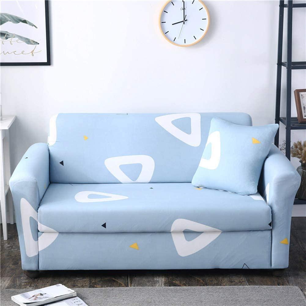 HOMRanger Stretch Printed Couch Cover,All-Inclusive Non-Slip Sofa Slipcover Elastic Universal Combination Sofa Towel Furniture Protector J Three Seats