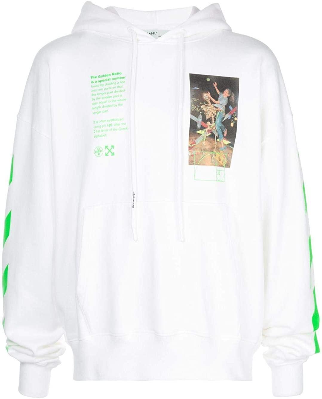 OFF-WHITE Luxury Fashion Man OMBB037R20E300140188 White Cotton Sweatshirt | Spring Summer 20