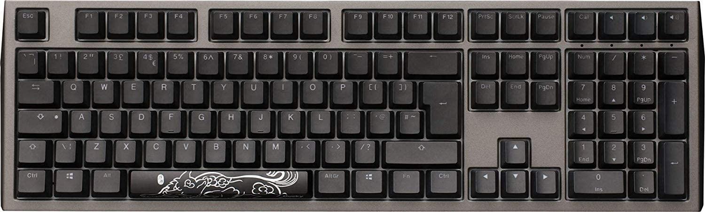 Ducky Shine 7 RGB Backlit USB Mechanical Keyboard PBT Gaming Keyboard RGB LED Gunmetal Keyboard (Cherry MX Blue Switch)
