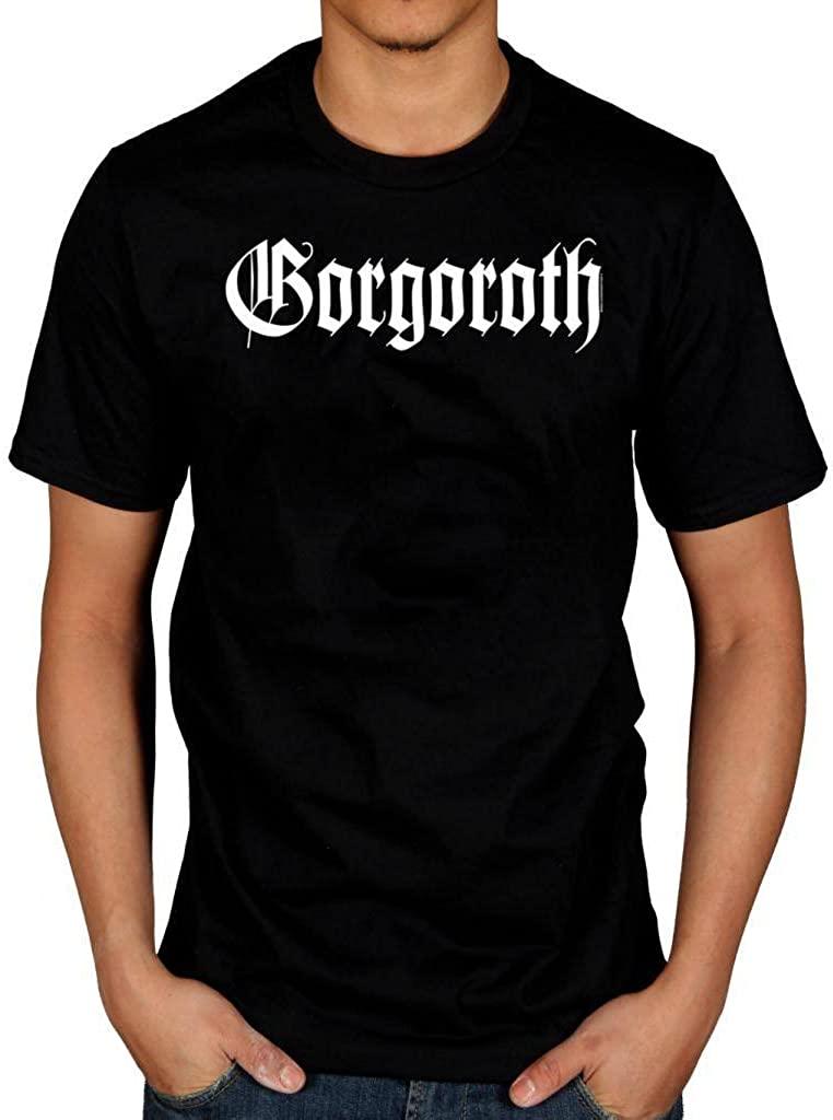 Official Gorgoroth True Black Metal T-Shirt Licensed Norwegian Logo
