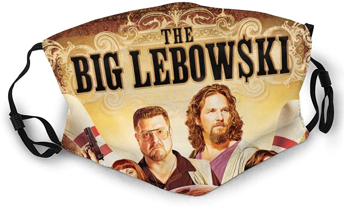 The Big Lebowski Reusable For Men Women Breathable Adult Dust Face Mouth Cloth Balaclava