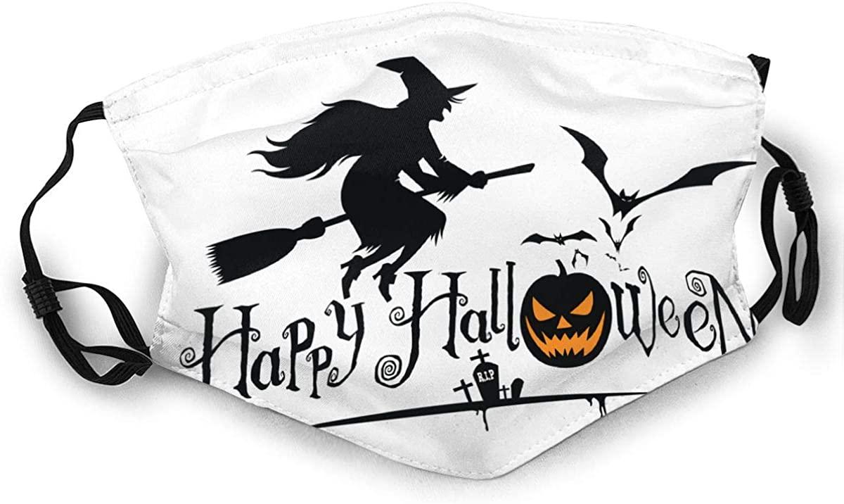 Halloween Reusable For Men Women Breathable Adult Dust Face Mouth Cloth Balaclava