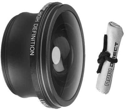 Viv/Optics 2.2X Teleconverter Lens for Sony HDR-XR350V + Stepping Ring (30mm-37mm) + Nwv Direct Microfiber Cleaning Cloth