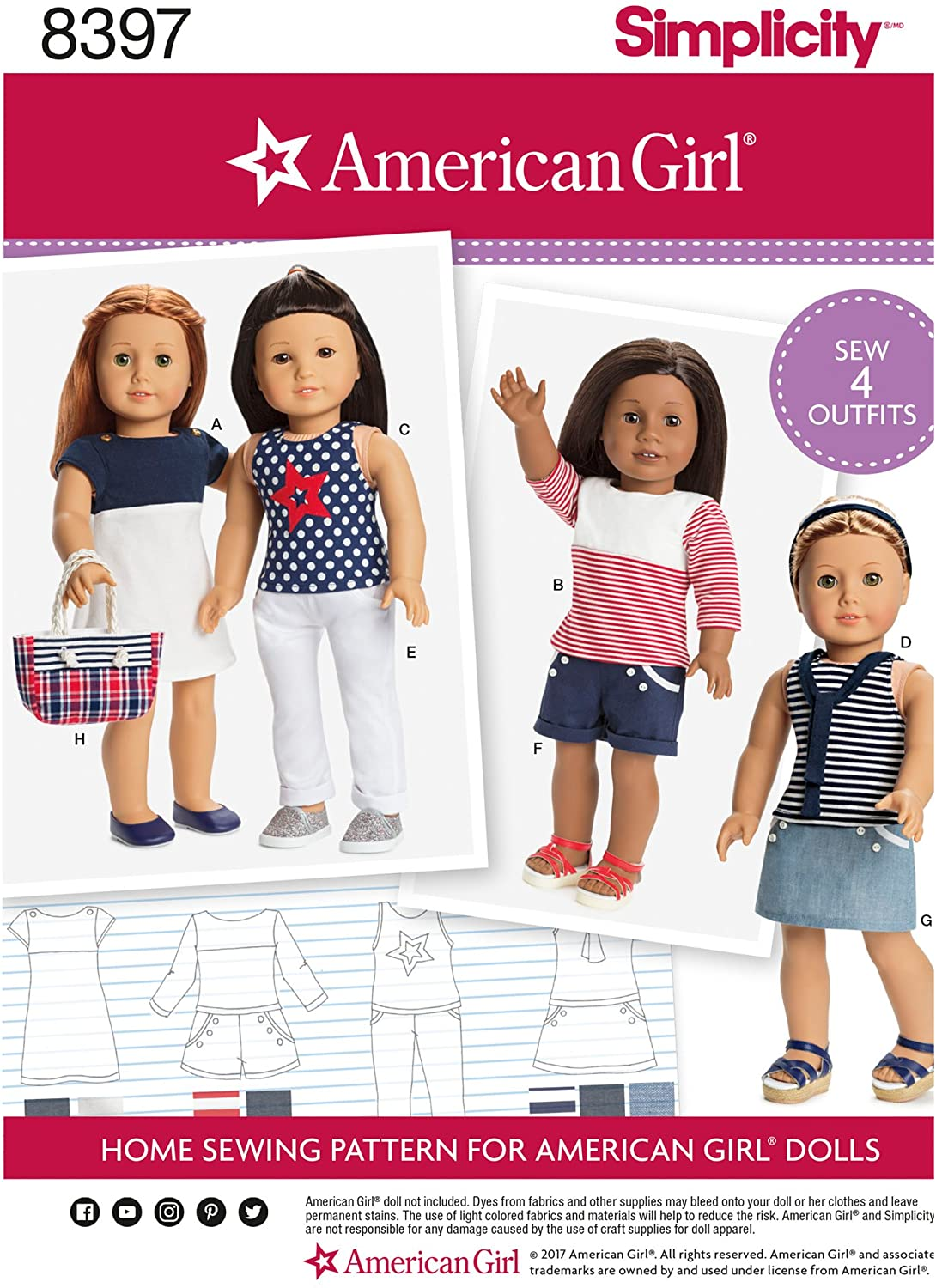Simplicity Creative Patterns Sewing Pattern Crafts