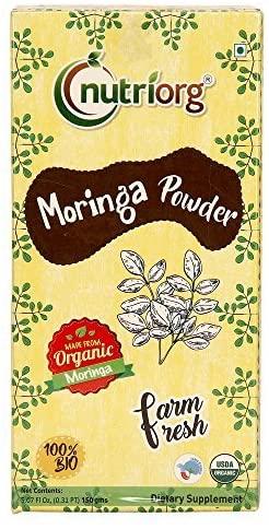 Nutriorg Organic Moringa Powder 5.07 Ounce