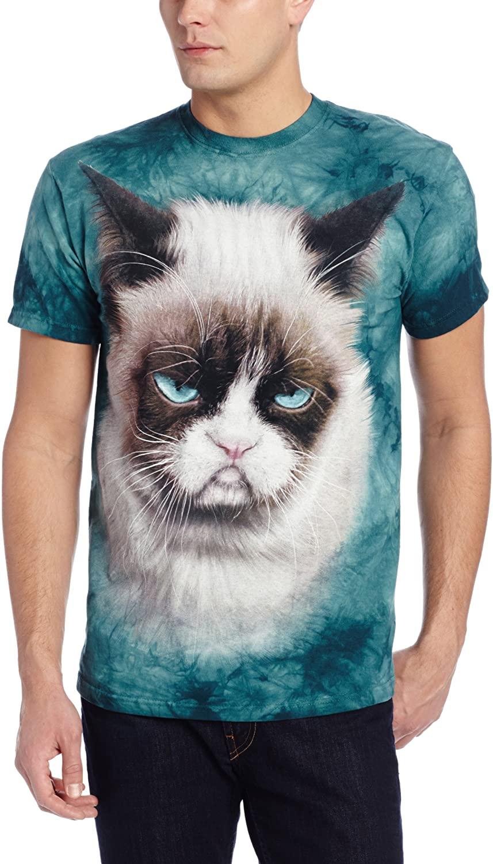The Mountain Men's Grumpy Cat T-Shirt
