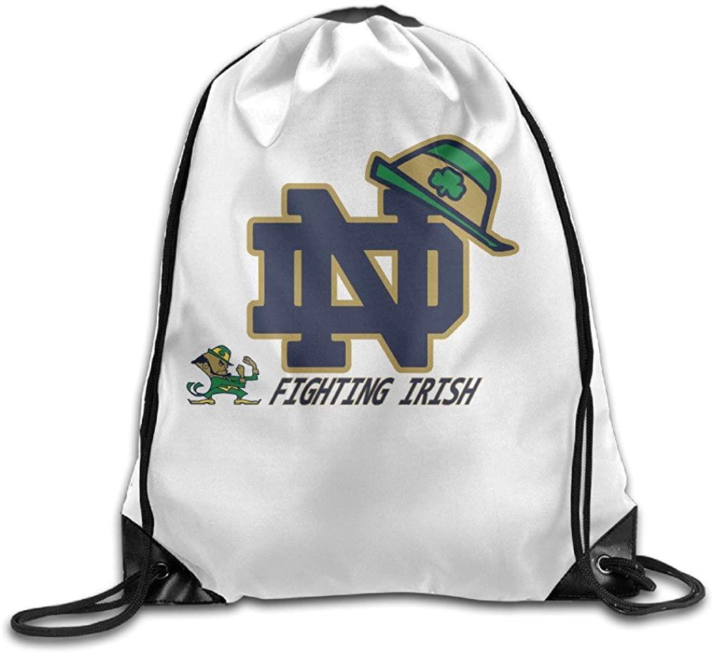 JAI Notre Dame Fighting Irish 2015 Shamrock Series Hat Basic Training Drawstring Backpack