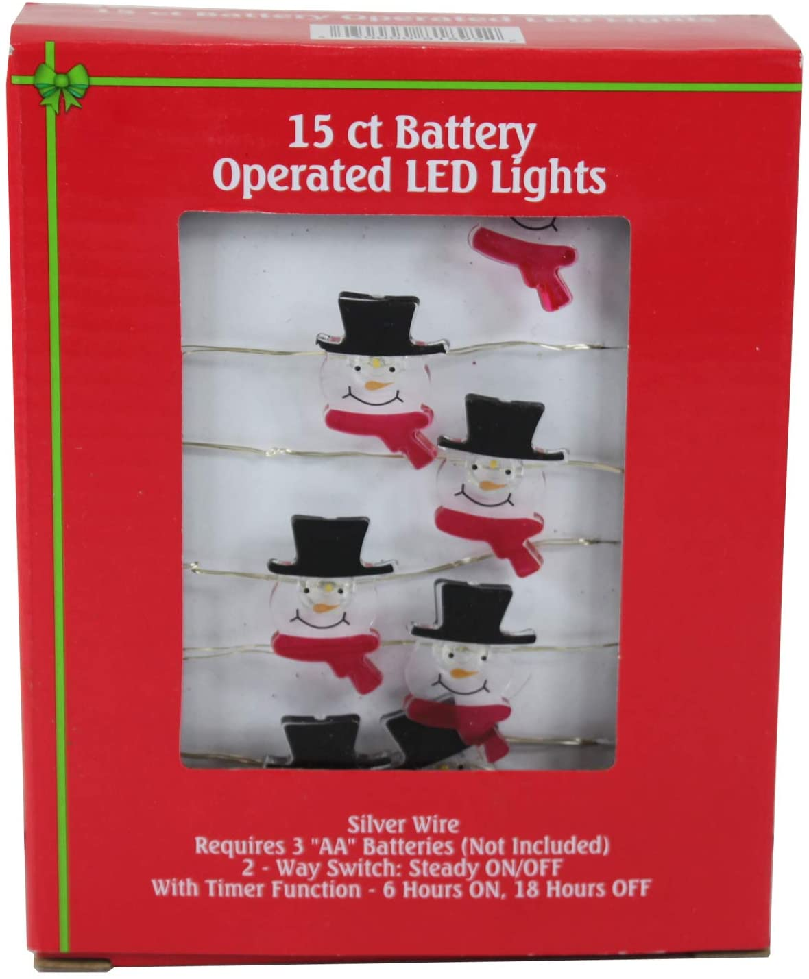 Dazzling Deals Holiday Style 15 Ct Battery Operated LED Lights