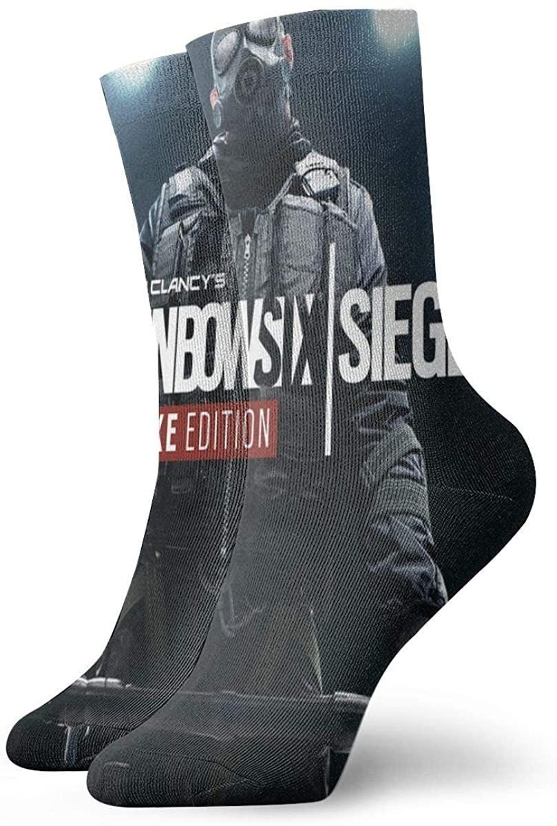 Unisex Rainbow Six Siege Athletic Stockings Crew Socks Sports Outdoor For Men Women