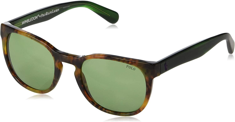 Polo Ralph Lauren Men's Ph4099 Round Sunglasses