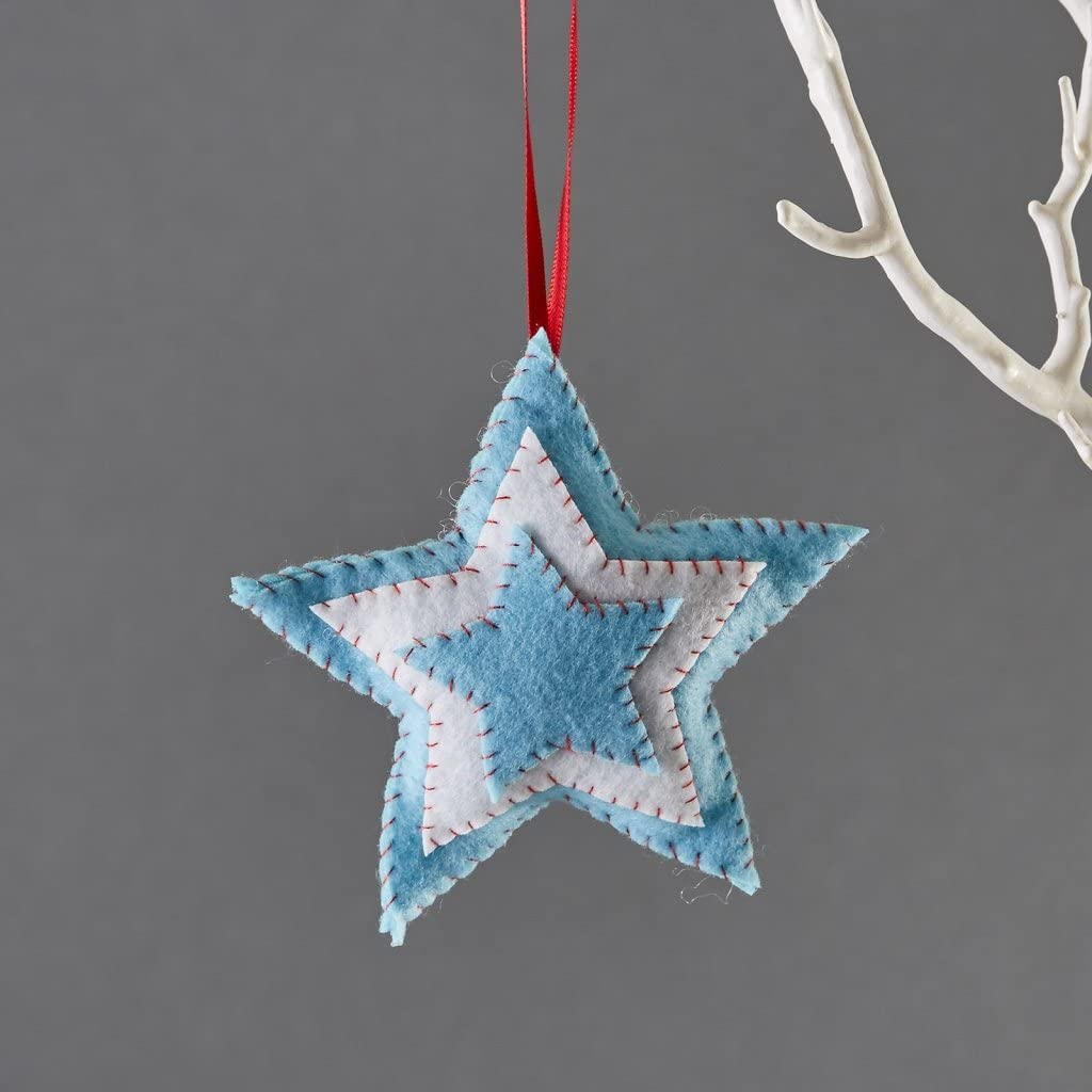 Buttonbag Christmas Star Mini Felt Kit