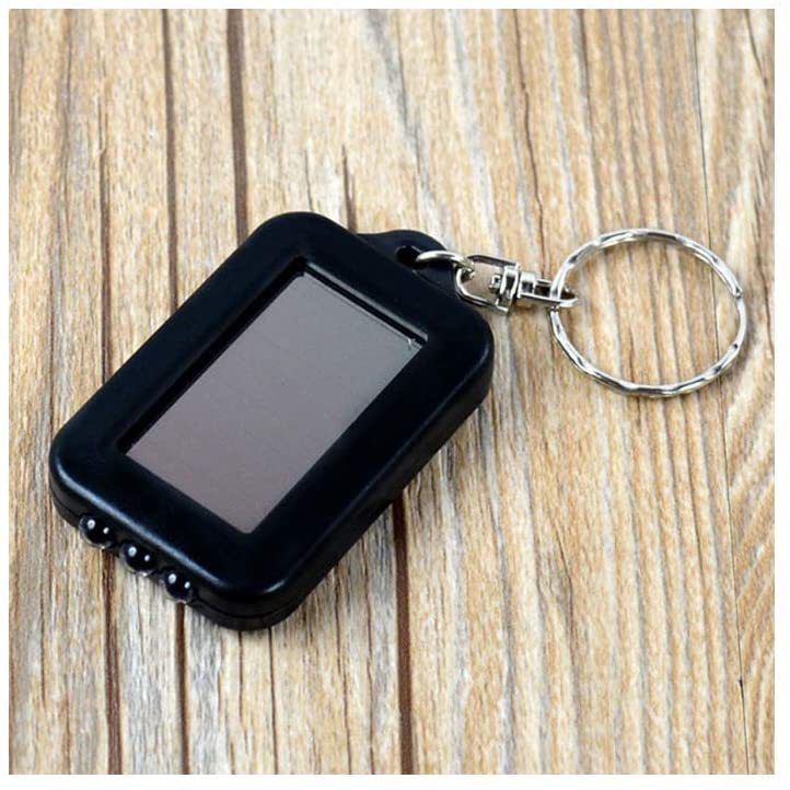 Mini LED Flashlight Keychain Portable Keyring Light Torch Key Chain 3 Led Light Emergency Camping Lamp backpack light