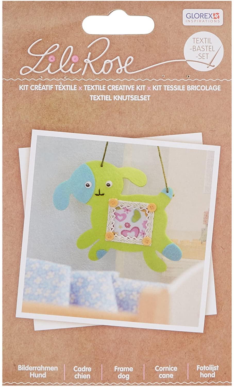 Glorex 68619804Textile Polyester Craft Set, 19.5x 14.6x 1cm Multicoloured