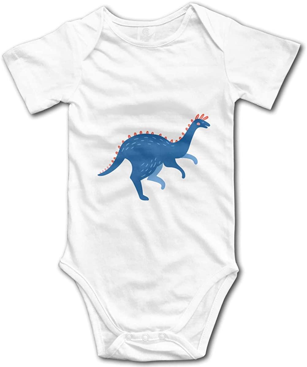 Alin-Z Dinosaure Baby Jumpsuit Cotton Baby Crawl Suit Short Sleeve Bodysuit