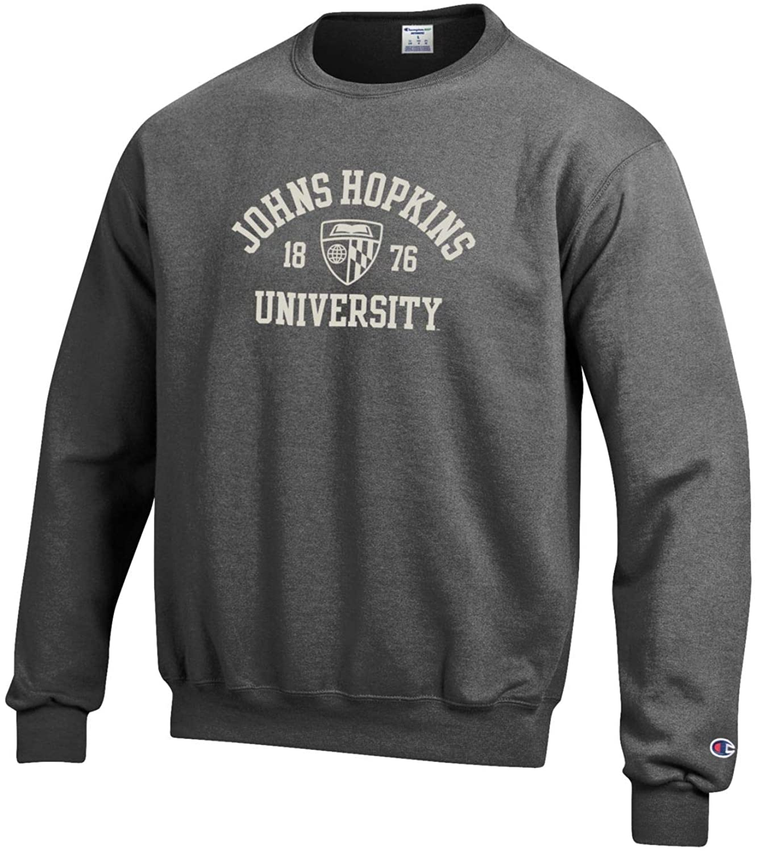 Johns Hopkins University Crew Neck Sweatshirt Sweater
