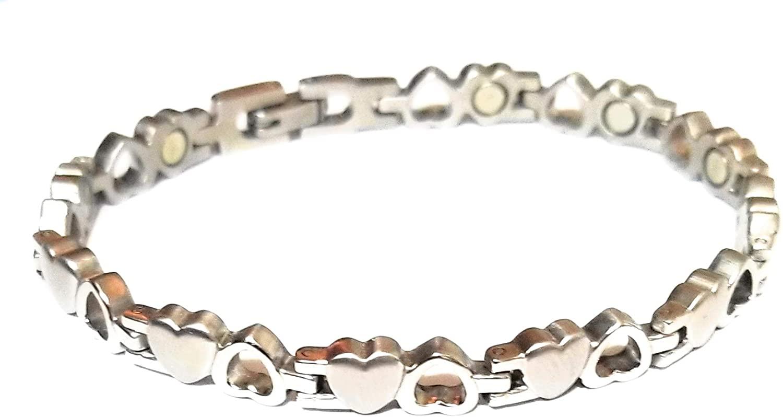 5starjewelry 5000 Women's Stainless Steel Magnetic Bracelet