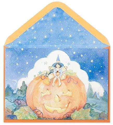 PAPYRUS HALLOWEEN CARDS Starry Night Halloween