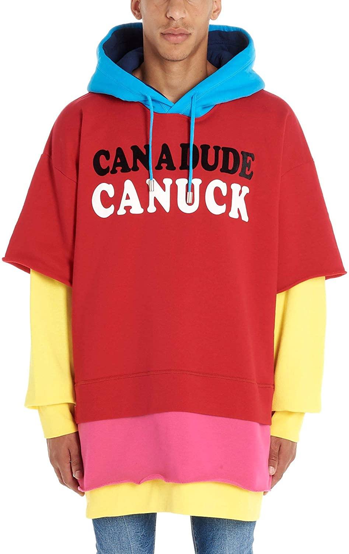 DSQUARED2 Luxury Fashion Man S74GU0362S25042985 Multicolor Cotton Sweatshirt | Fall Winter 19