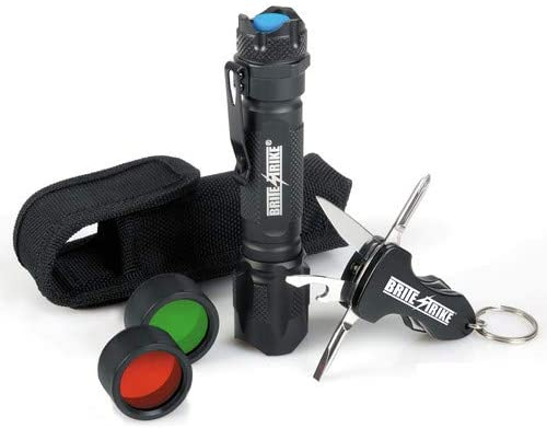 Tactical Blue Dot LED Flashlight with Multi-Tool