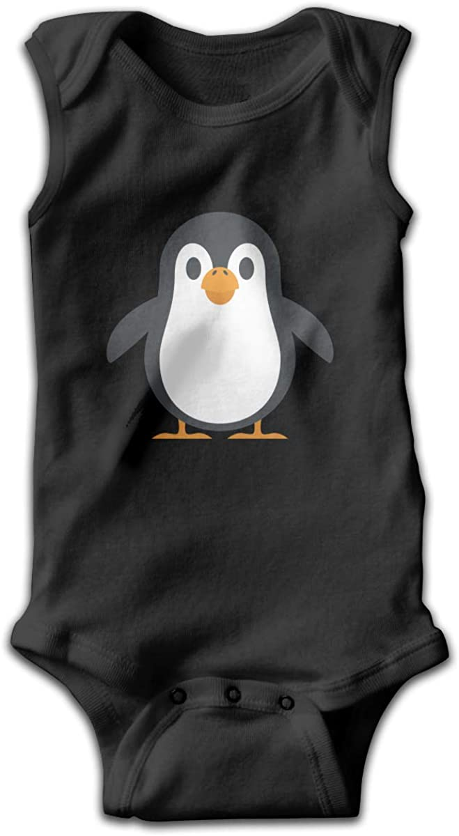 EASON-G Penguin Unisex Baby Bodysuit Infant Cotton Outfits Rompers
