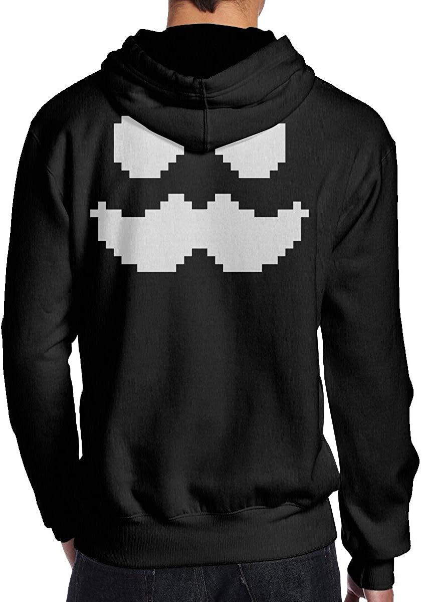 Mens Hoodie Mum-bo-Jumbo Back Print Sweatshirt Black