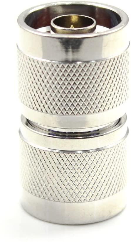 QIN ZL-433 coaxial coax adapter N male to N male Fine Copper