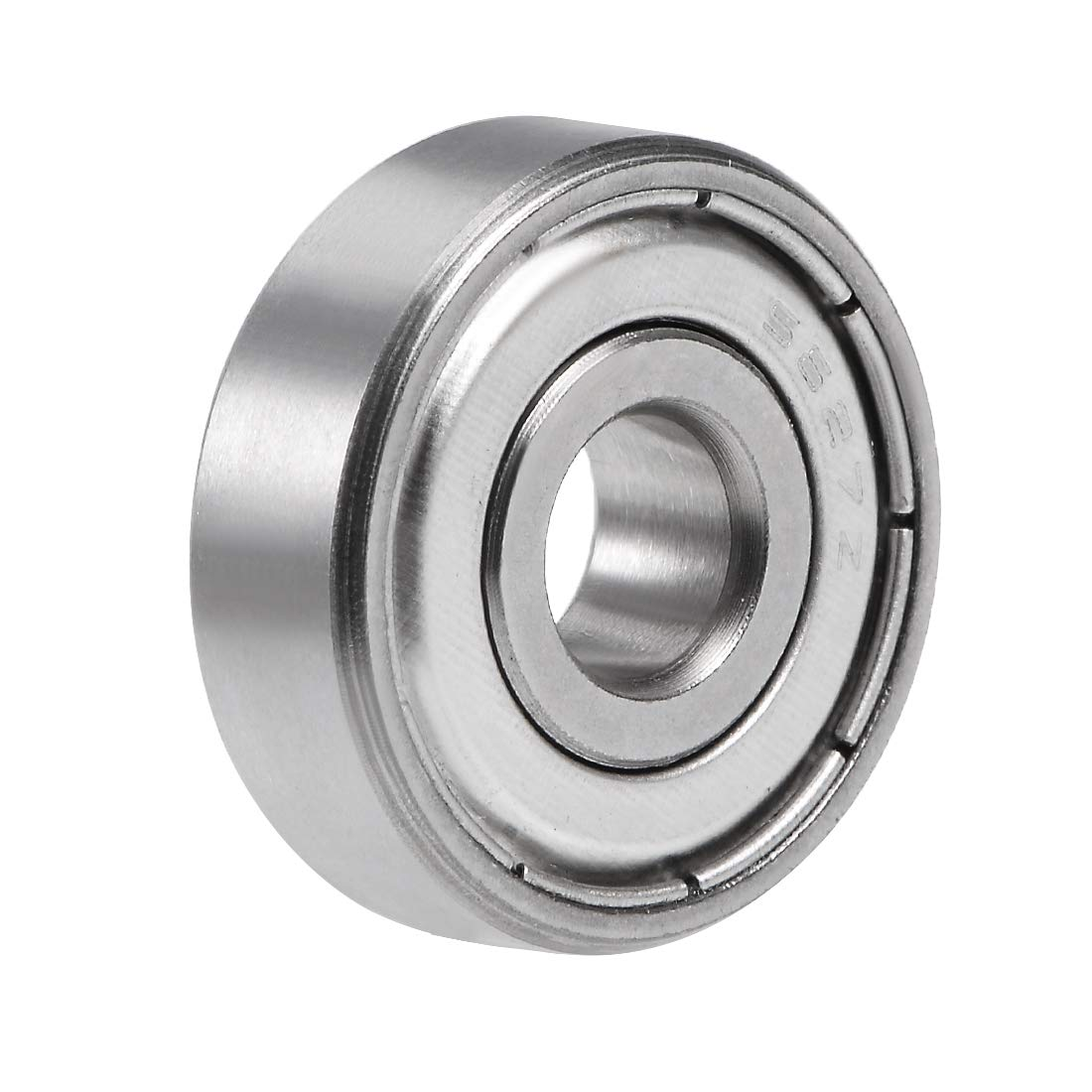 uxcell S627ZZ Stainless Steel Ball Bearing 7x22x7mm Double Shielded 627Z Bearings 1-Pack