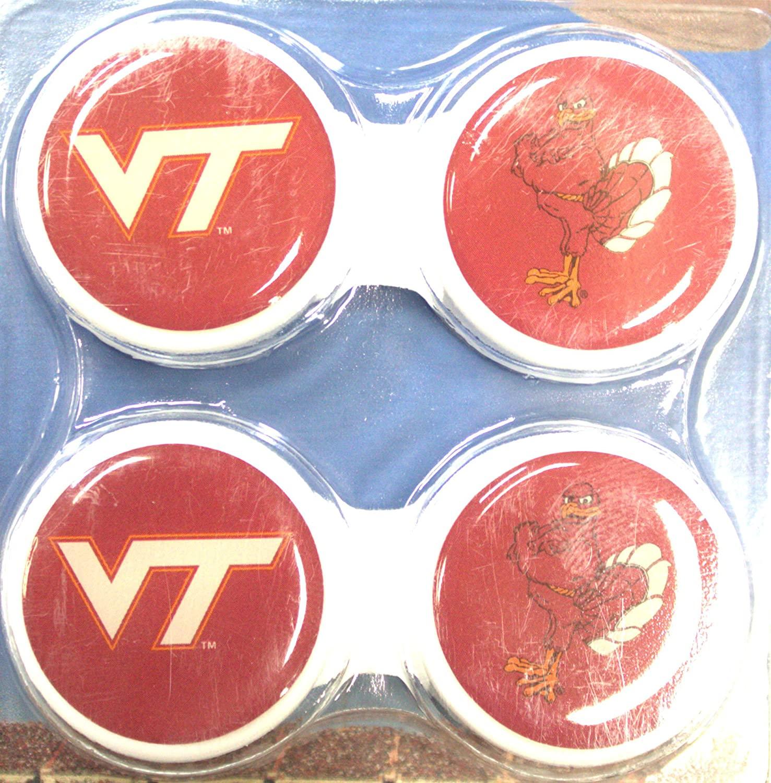 California Accessories Virginia Tech Hokies Contact Lens Case 2 Pack