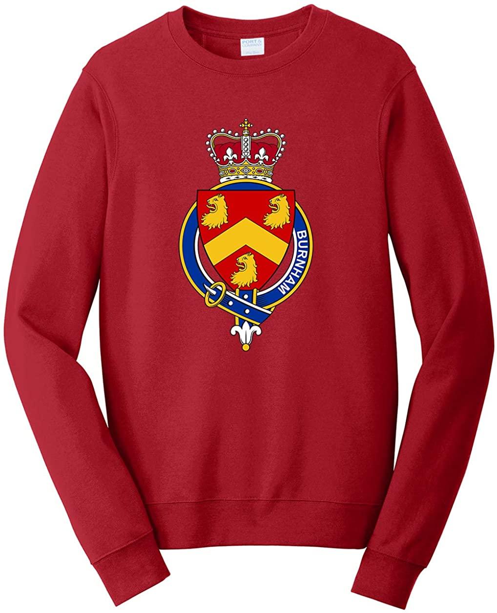 Tenacitee Men's English Garter Family Burnham Sweatshirt