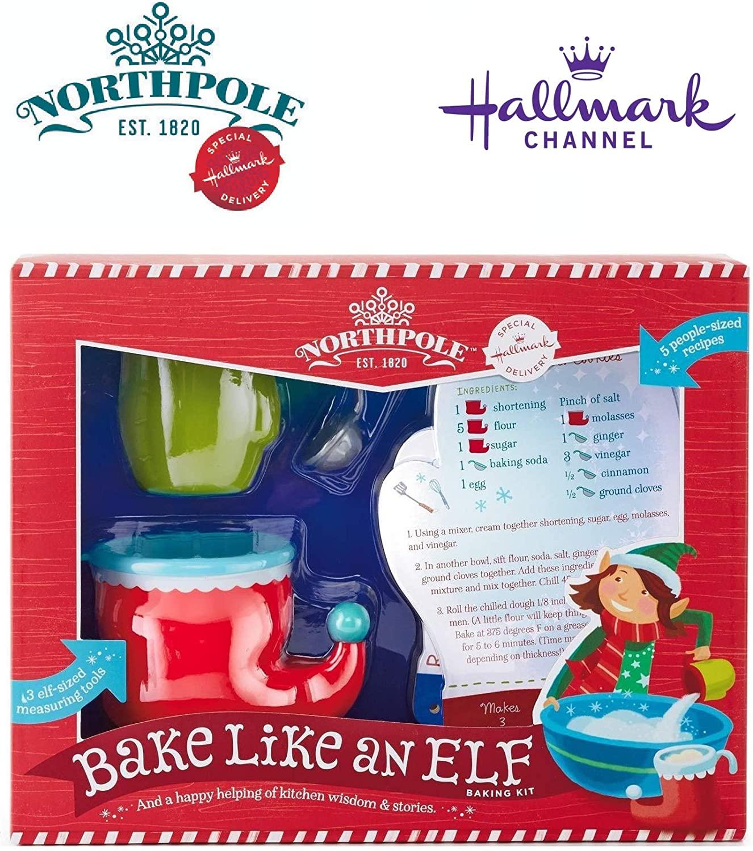 Hallmark Bake Like an Elf Baking Kit with Recipe Cards