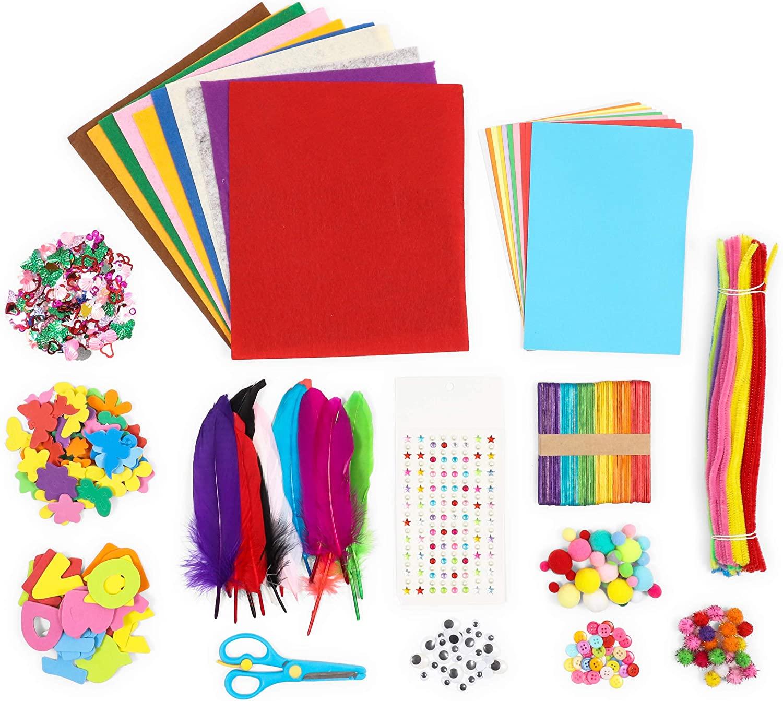 DIY Arts and Crafts Kit (1000 Pieces)
