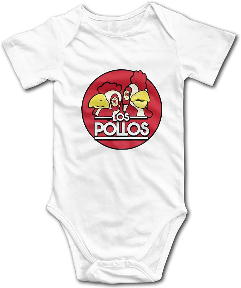AP.Room Los Pollos Hermanos Baby Bodysuit Blink Climbing Clothes White 2t