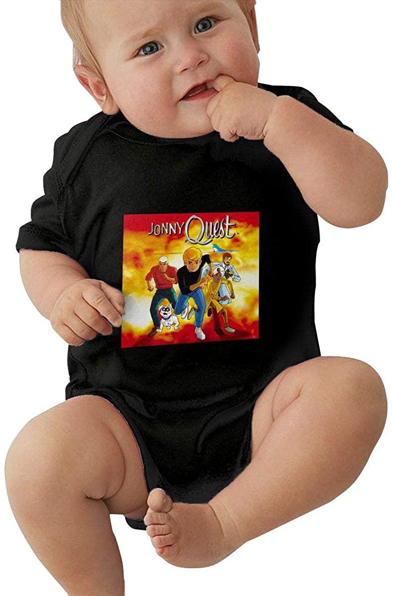 Jonny Quest Custom 100% Cotton Baby Bodysuit Personalized
