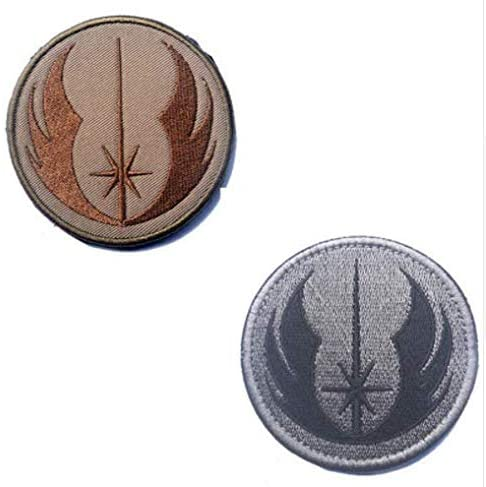 Star Wars Jedi Order Embroidery Patch Military Tactical Morale Patch Badges Emblem Applique Hook Patches for Clothes Backpack Accessories